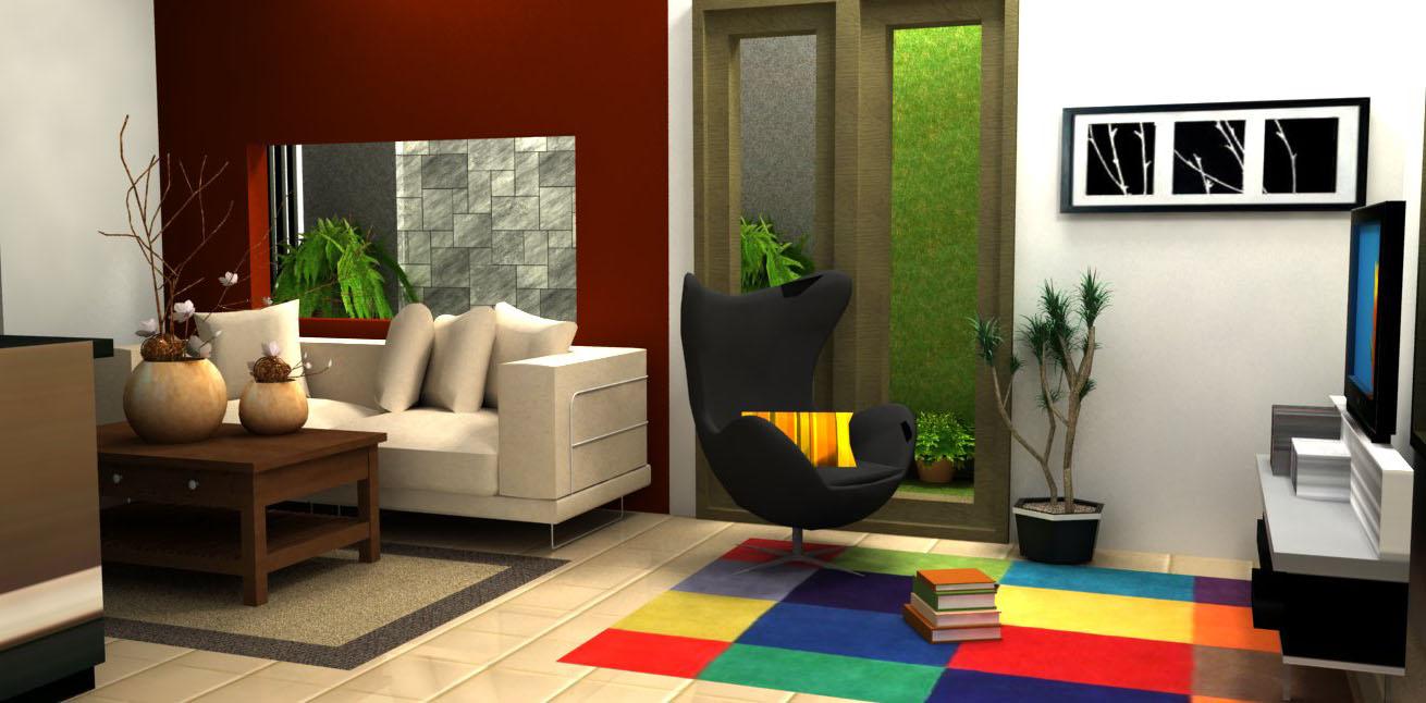 Cara Desain Interior Rumah Yang Mungil
